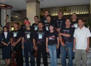 Orkes Keroncong Cyber Mejeng Menjelang Tampil di IKF